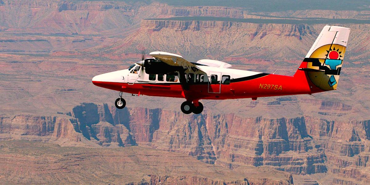 Paseo en Avioneta por el Gran Cañon
