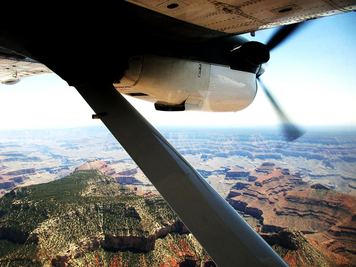 Tour en Avioneta por el Gran Cañón