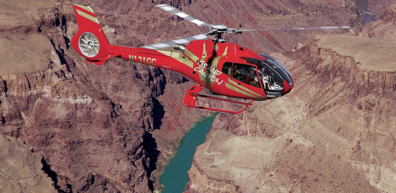 Paseo en Helicóptero por el Gran Cañon