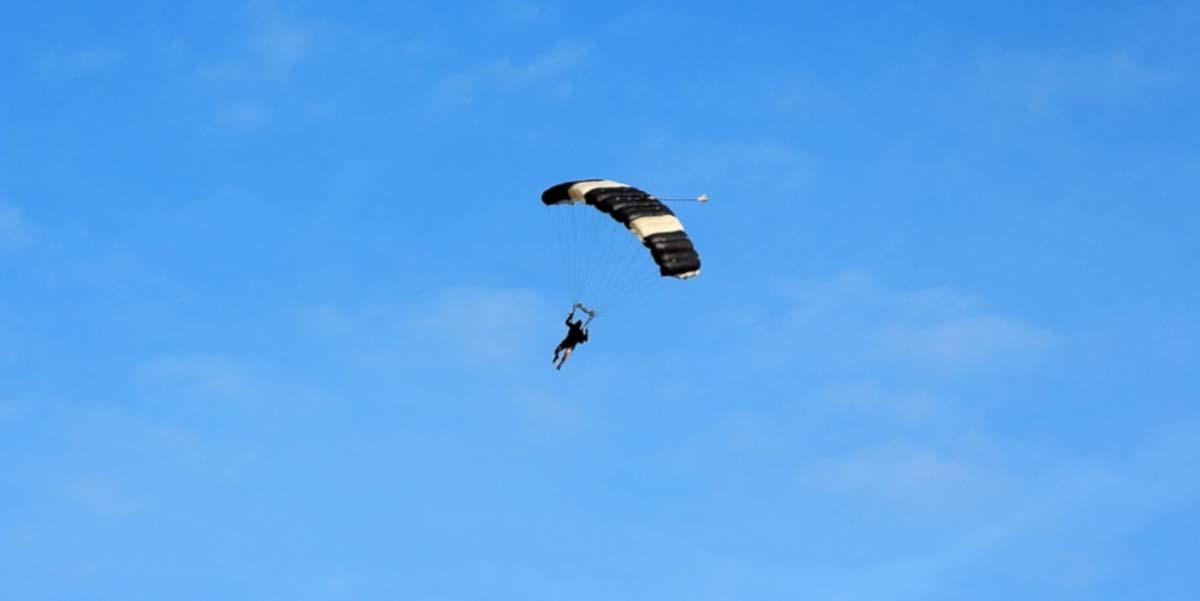 Paracaidismo en el Gran Cañón