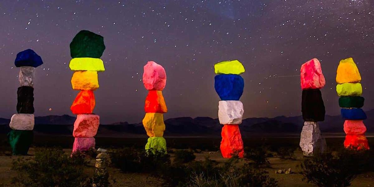 Las 7 Montañas Mágicas de Las Vegas